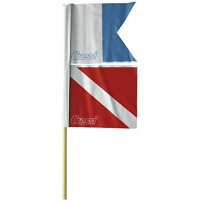 Cressi Torpedo Buoy Flag One Size  Float accessories
