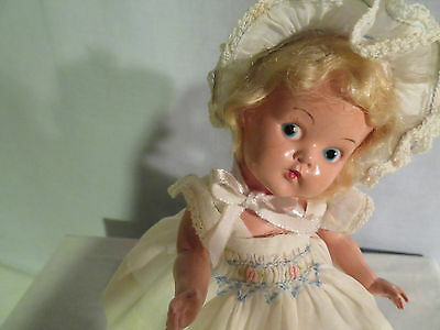 Ginny Pinkie, 1949, painted eye, hard to find, c/s shoes, all orig.,So Sweet, EX