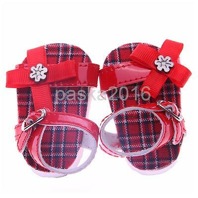 Cute Summer Sandals Flat Shoes for 18 inch American Girl Our Generation Doll