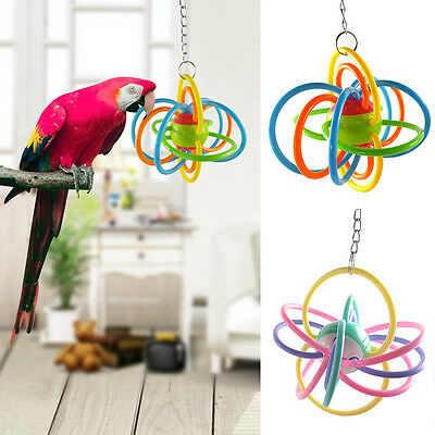 Colorful Pet Toys Parrot Toy Bird For Parakeet Cockatiel Climbing Chew Fun Cage