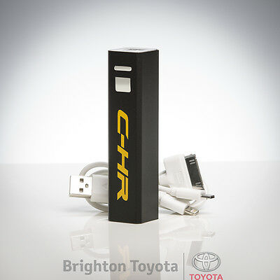 New Official Toyota Merchandise CHR Power Bank mobile Charger  Part TMCHR004