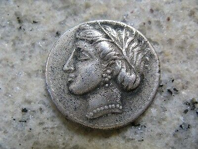 Antique Ancient Greek AR Silver Stater Locri Opuntii 369-338 B.C. Coin