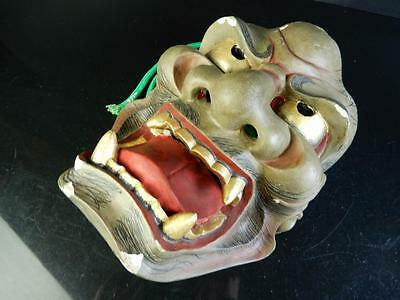 H1803: Japanese Wooden Dry lacquer Buddhism Traditional Prajna/HANNYA MASK