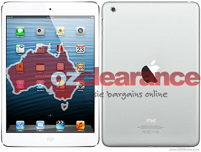 GRADE D Apple iPad Mini White 16GB WiFi only | Unlocked | Clearance | LCD Crack