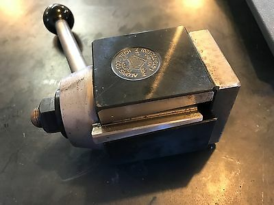 """Aloris BXA Lathe Tool Post NEW! Great for Monarch10EE & South Bend 13"""" lathes!"""