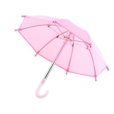 Handmade Pink Umbrella for 18 inch American Girl Our Generation Doll Clothes