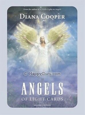 """""""angels Of Light"""" 52 Cards Oracle Deck By Diana Cooper"""