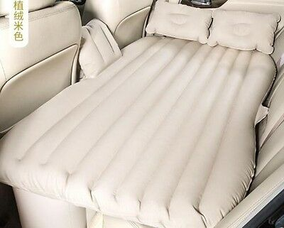 Car Inflatable Air bed sofa Mattress Rear Back Seat Sleep Rest Bed Pillow Travel