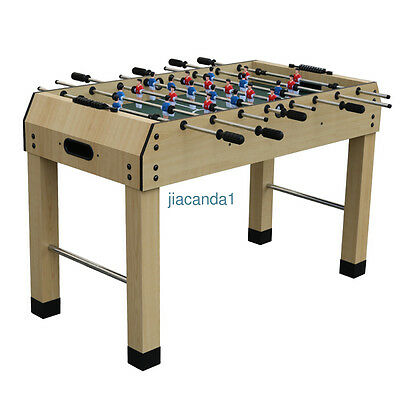 NEW!4ft Foosball Table Football Soccer Player Family Indoor Table Game Kids Gift