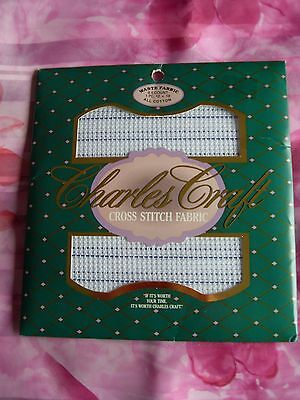 Charles Craft - 8.5 Count - Waste Fabric - Cross Stitch