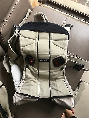 Baby Bjorn One Carrier With Bibs And New Born Carrier Both On On Sale