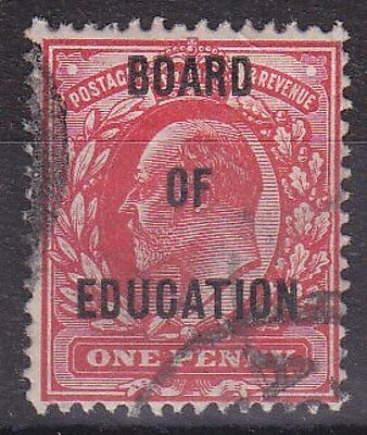 GB KEVII - SG O84 - Board of Education OFFICIAL 1d - good used