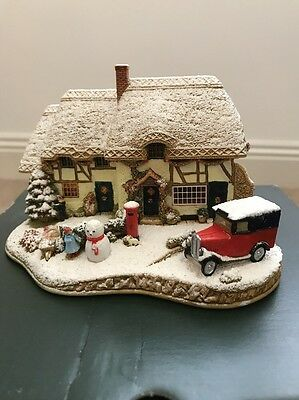 Lilliput Lane - Decorating The House - Brand New With Signed Deeds
