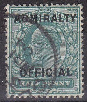 GB KEVII - SG O107 - Admiralty OFFICIAL 1/2d - good used