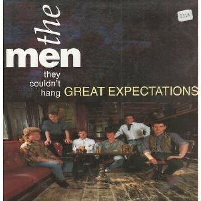 "MEN THEY COULDN'T HANG Great Expectations 12"" VINYL UK Silvertone 1990 2 Track"