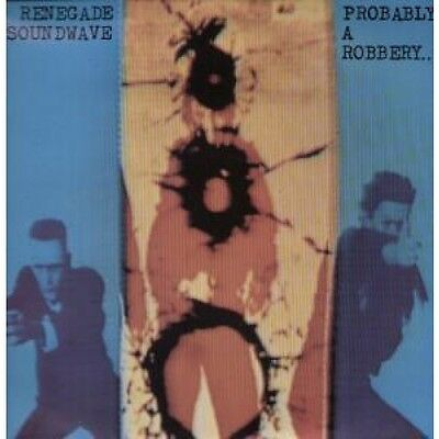 """RENEGADE SOUNDWAVE Probably A Robbery 12"""" VINYL UK Mute 1990 2 Track Extended"""
