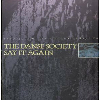 "DANSE SOCIETY Say It Again DOUBLE 12"" VINYL UK Arista 1985 4 Track Limited"