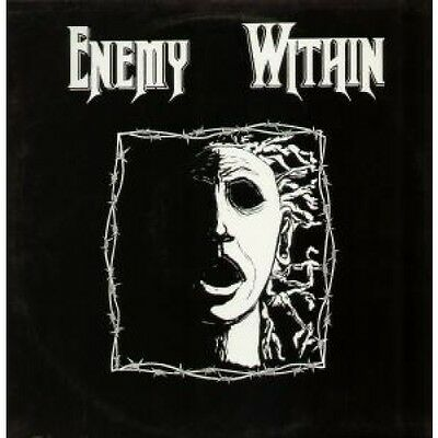 """ENEMY WITHIN Break Your Chains 12"""" VINYL UK Siege 1993 2 Track B/w A Fool's"""