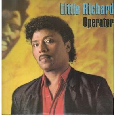 "LITTLE RICHARD Operator 12"" VINYL UK Wea 1986 2 Track Extended Mix B/W Big"