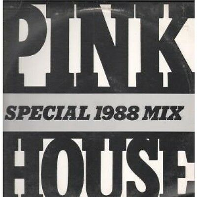 """LEATHER NUN Pink House 12"""" VINYL US Irs 1988 1 Track Special 1988 Mix Promo In"""