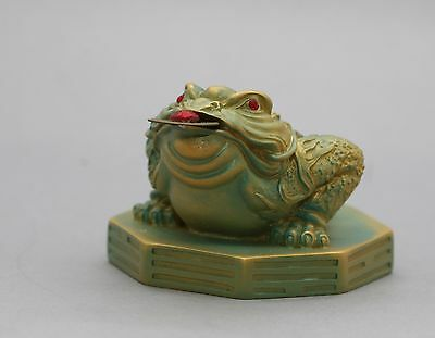 Quality Sculpture Of The Moon Frog Chinese Mythology Prosperity  Symbol Boxed