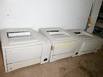 Job Lot 3 X Hp Laserjet Printer 2200 2100 Network Monochrome * Working * Incvat