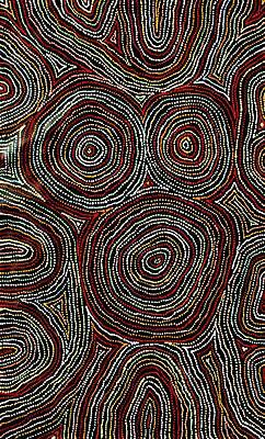 Aboriginal Art Painting by Tammy Matthews 78cm x 124cm