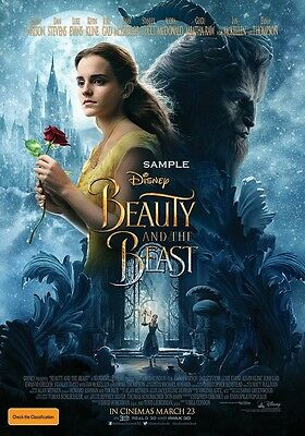 Beauty and the Beast 2017 version 3 A1 plus 24x36 inche large Movie Poster Print