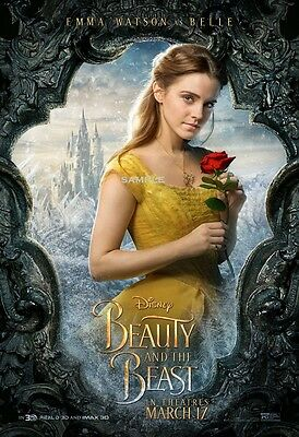 Beauty and the Beast 2017 Belle A1 plus 24x36 inches large Movie Poster Print