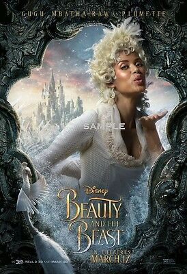 Beauty and the Beast 2017 Plumette A1 plus 24x36 inches large Movie Poster Print