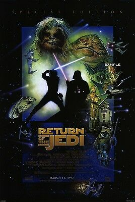 Star Wars Return of the Jedi, A1 plus large poster print