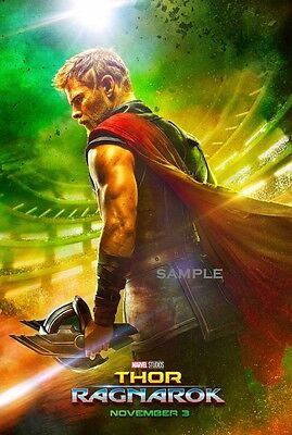 New Thor Ragnarok Marvel 2017 Movie Poster A1 plus large Print