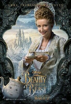 Beauty and the Beast 2017 Mrs Potts A1 plus 24x36 inche large Movie Poster Print