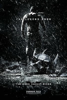 The Dark Knight Rises Movie, A1 plus large poster print