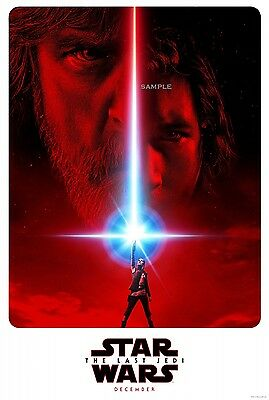 Star Wars The Last Jedi 2017 Movie Poster A1 plus large Print