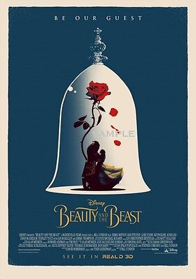 be our Guest Beauty and the Beast 2017 A1 plus 24x36 inches Movie Poster Print