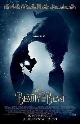 Beauty and the Beast 2017 A1 plus large 24x36 inches Movie Poster version 5