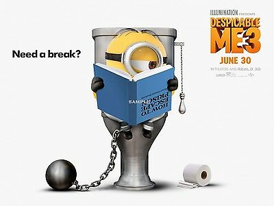 New Despicable Me 3 Movie Poster A4 Print version 2