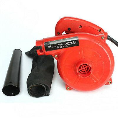 1000W Suck Dust Electric Hand Operated Air Computer Blower Vacuum Cleaner 220V