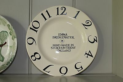 Emma Bridgewater Black Toast Clock Face - New Perfect