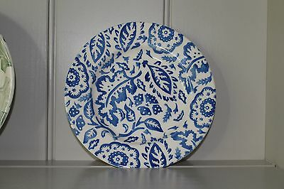 Emma Bridgewater Blue Wallpaper Sideplate Conran - Seconds