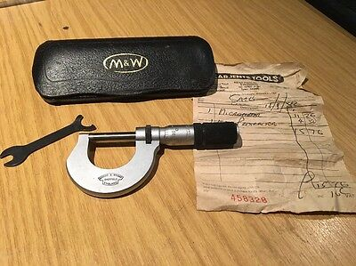 Moore Weight Micrometer 1982, Good Condition, Antique, Vintage