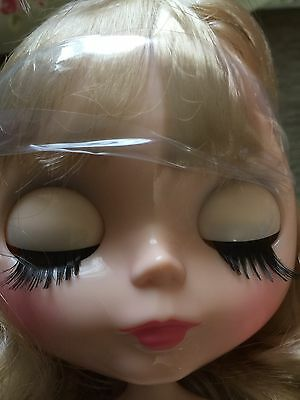 Blythe Factory Doll Blonde Bobbed Hair Custom Eyes Imperfect* Free Items!