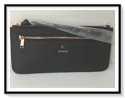 Mimco MICRA Currency Pouch Wallet Bag Brand New with Tags Black RRP $149