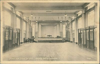 Solihull High School For Girls. Assembly Hall & Gymnasium    QS.968