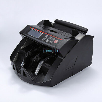 Multi-function Money Counter Cash Bank Note Counting Machine Fake Detector Pound