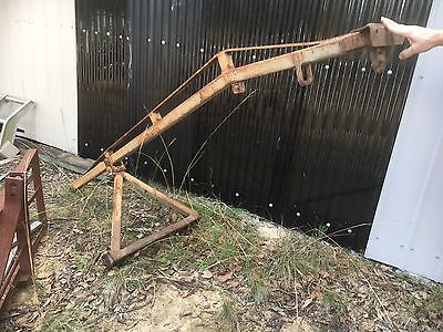 Tractor Implement,  3 Point Crane