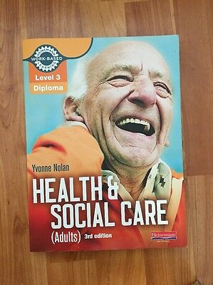 diploma level 3 health and social Buy level 3 health & social care diploma uk ed by caroline morris, fiona  collier (isbn: 9781471806629) from amazon's book store everyday low prices .