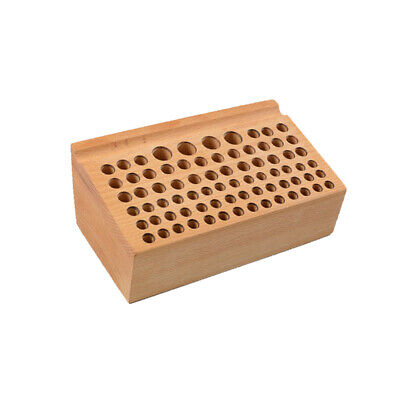 Leathercraft Tool Wood Stand Holder 76 Punch Tool Paint Brush Rack Holding