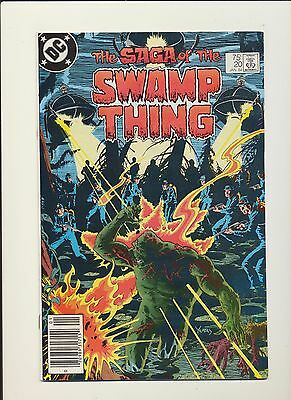 Saga of the Swamp Thing #20 (DC 1984)! 1st Alan Moore! SEE PICS AND SCANS! KEY!
